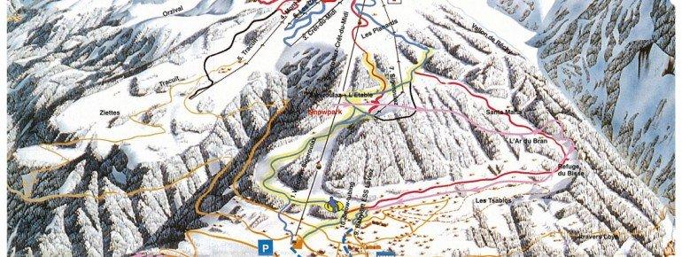 Trail Map Vercorin