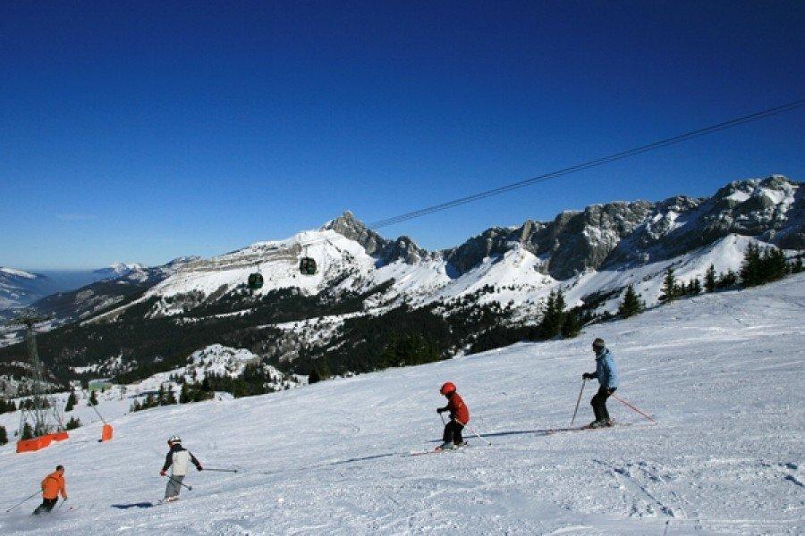 Ski alpin, station de ski Villard de Lans