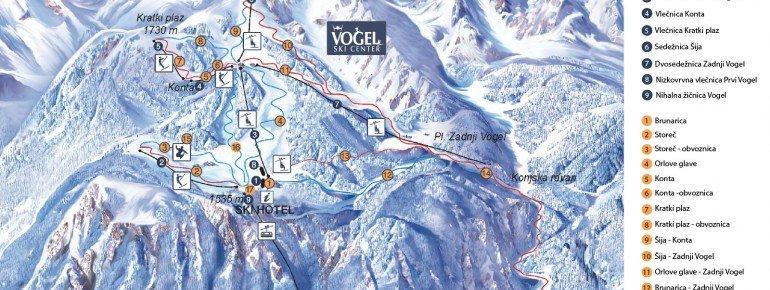 Trail Map Vogel