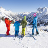 Skiing fun for the whole family is guaranteed.