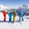 Skiing fun for the whole family is guaranteed.