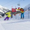 A blast for the young and the old: the skimovie run.