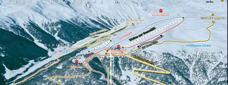 Trail Map Watles