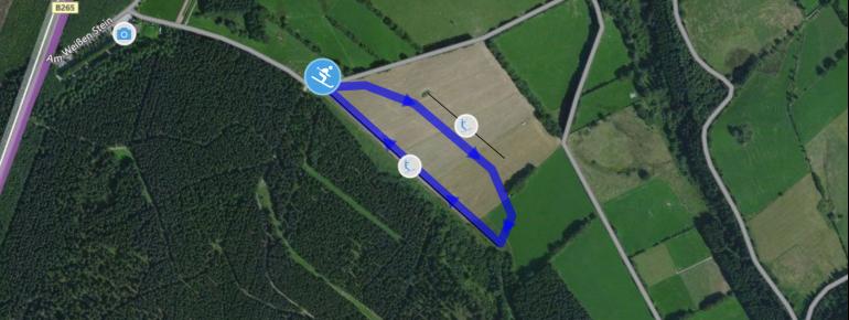 Trail Map Weißer Stein