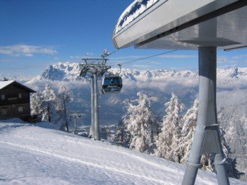 Top station of Gondola Ikarus