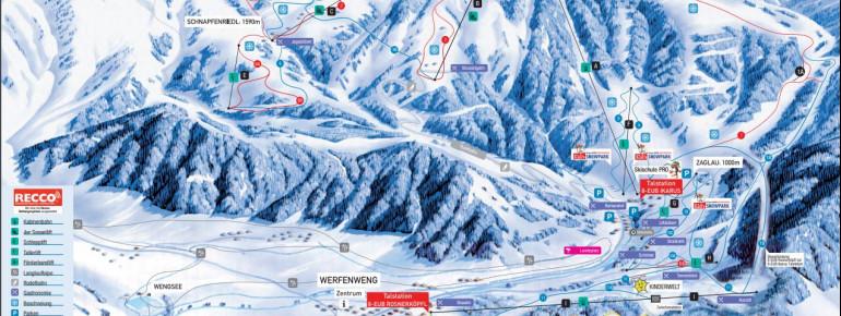 Trail Map Werfenweng