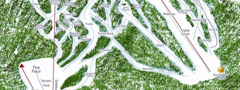 Trail Map West Mountain Ski Area