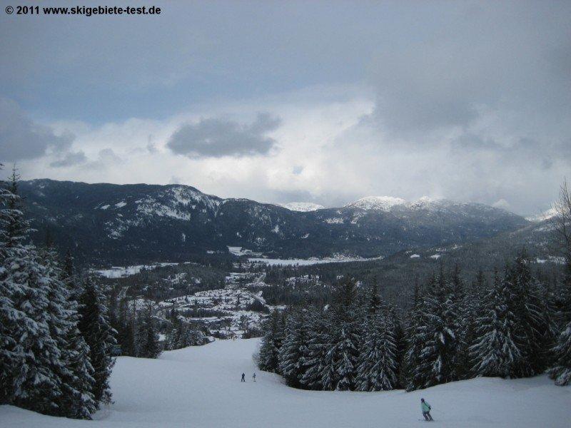Ski Resort Whistler Blackcomb Mountains Ski Holiday Reviews Skiing