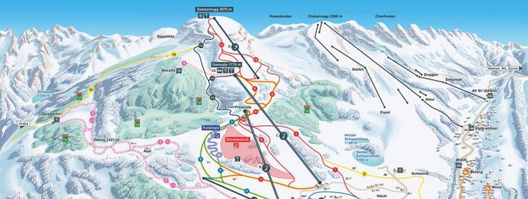 Trail Map Wildhaus