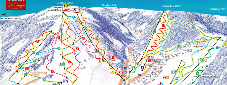 Trail Map Willingen