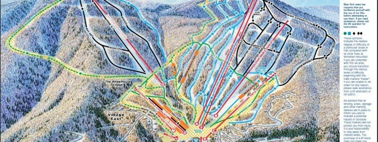 Trail Map Windham Mountain