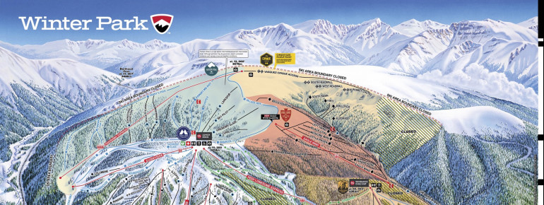 Trail Map Winter Park Resort