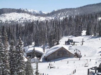 Wolf Creek is situated amongst the Colorado Rockies.