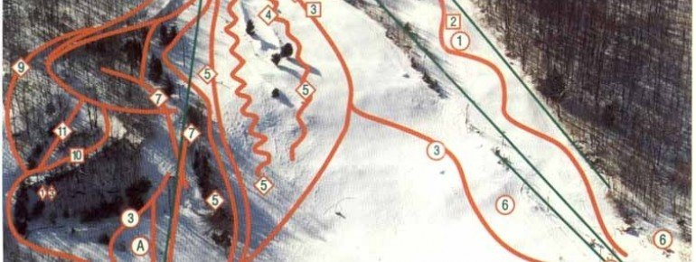 Trail Map Woodbury Ski Area