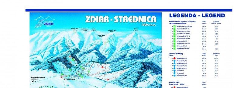 Trail Map Zdiar