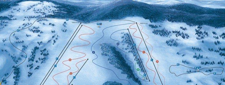 Trail Map Zuberec Janovky