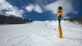 Extrem leistungsfähig: Insgesamt 600 Schneekanonen sorgen für beste Bedingungen auf den Pisten!