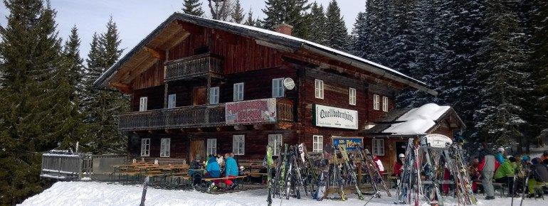 Preistipp an der Schladminger Planaibahn: Die Quellbodenhütte