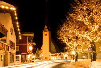 Der Marktplatz in Abtenau