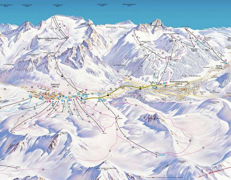 Skigebiet Adamello Ski Skiurlaub Skifahren Testberichte