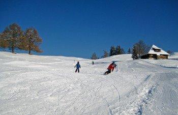 Skifahren in Aeschi