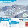 Pistenplan Aillons-Margériaz 1000