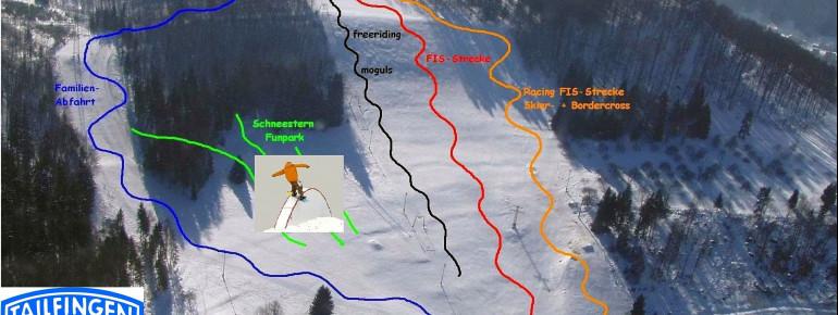 Pistenplan Albstadt Tailfingen