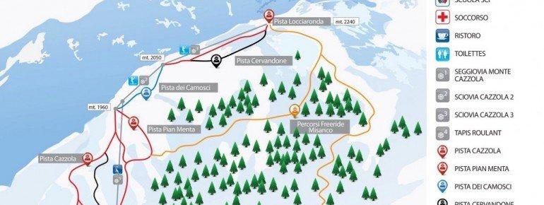 Pistenplan Alpe Devero
