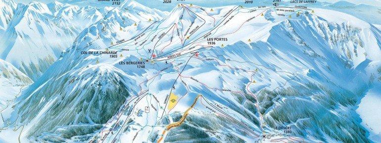 Pistenplan Alpe du Grand Serre