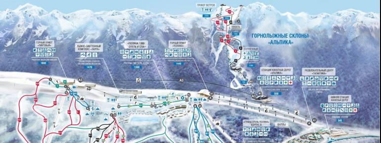 Pistenplan Alpika Service