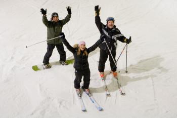 Ski- und Snowboardfahren auf 30.000 m²