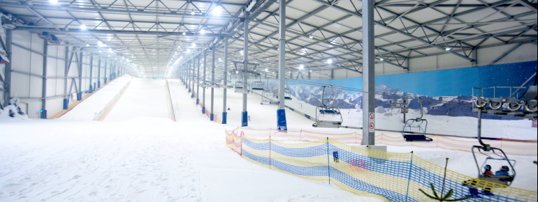 Pistenplan Skihalle Alpincenter Hamburg-Wittenburg