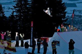 Der 5ive Alpspitzpark ist der Hotspot für Freestyler