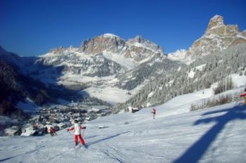 Alta Badia bietet 130 Pistenkilometer.