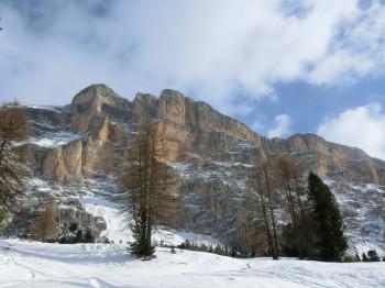 Der Heiligkreuz Berg bei Badia