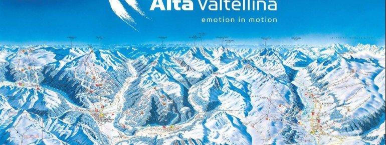 Pistenplan Alta Valtellina