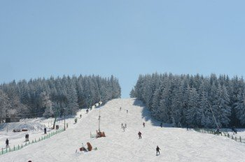 Skihang in Altenberg