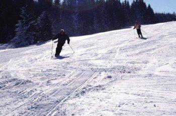 Zum Skifahren stehen 0,3 Pistenkilomter zur Verfügung
