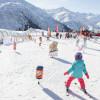 In der MATTI KidsArena lernen Kinder das ABC des Wintersports.