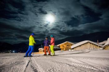 Jeden Donnerstag ist Nachtskifahren möglich.