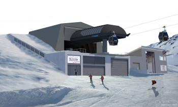 Mit dem Schneehüenerstock-Express ist der Zusammenschluss am Oberalppass komplett.