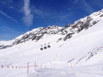 Insegsamt stehen Wintersportlern am Ankogel 12,8 Pistenkilometer zur Verfügung.