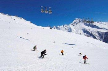 Das Skigebiet eignet sich besonders für Fortgeschrittene.