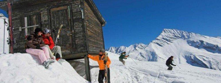 Das Skigebiet liegt mitten im Nationalpark Hohe Tauern.
