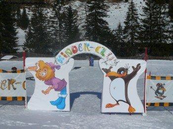 Der BOBOs Kinderclub im Tal ist das Richtige für kleine Skianfänger.