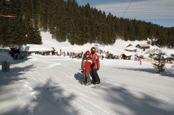 Das Skigebiet ist besonders bei Familien und Kindern beliebt.