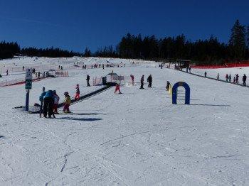Der Family-Cross-Park befindet sich oberhalb des ArBär-Kinderlandes.