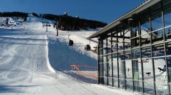 Die 6er-Gondelbahn ist das Herzstück des Skigebiets am Großen Arber.
