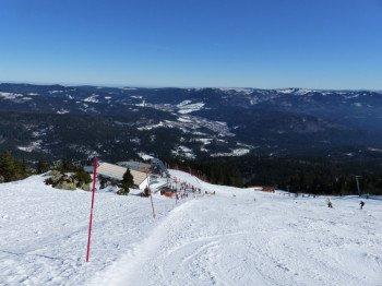 Schnee kann auch am höchsten Berg des Bayerischen Waldes nicht garantiert werden, ist aber durch die Nordhanglage begünstigt.