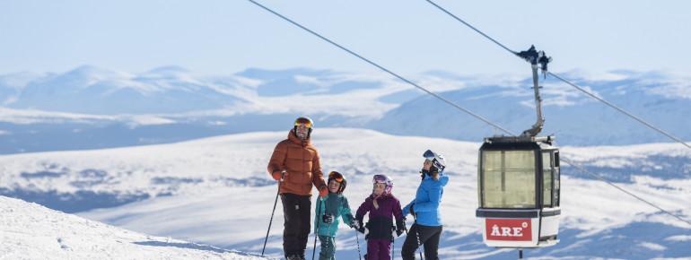 Åre ist auch für Familien wunderbar geeignet.